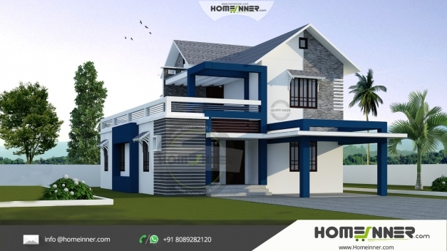 Awesome Modern Stylish 3 Bhk Small Budget 1500 Sqft Indian Home Design Home 1500 Sq Indian Hd Image Pic
