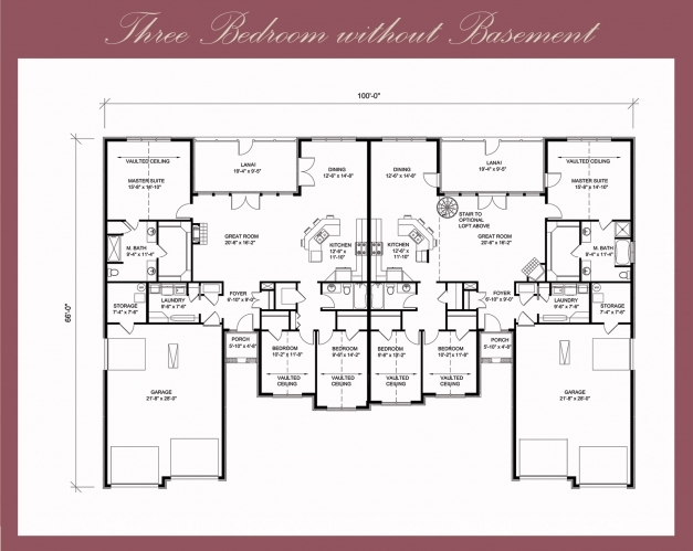 Best 3 Bedroom Flat Plan And Design Simple Three House Drawing Plans 4 Bedroom Flat Plan On Half Plot Pic