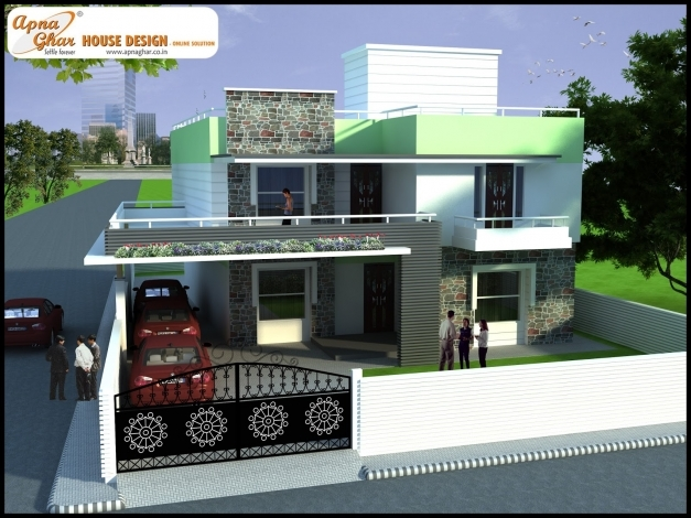 Best Download Triplex House Floor Plans 3d Adhome 3d Modern Duplex Image