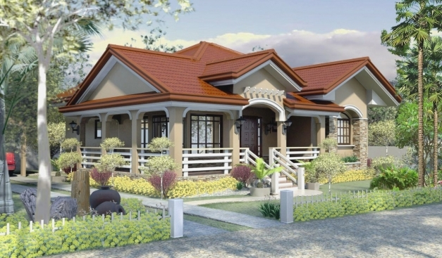 Best One Story House Plan Home Design Single Floor House Design Single Story Bungalow Design Photos