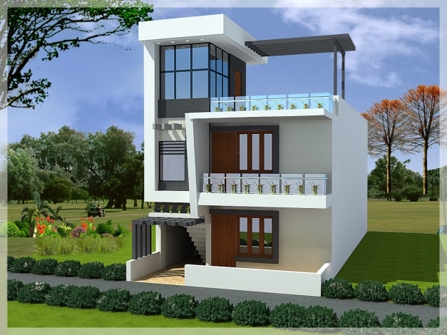 Best Surprising Modern Duplex House Elevations 49 With Additional 3d Modern Duplex Image