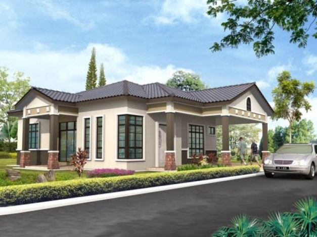 Delightful Bungalow Craftsman Single Story House Plans House Design One Single Story Bungalow Design Pics