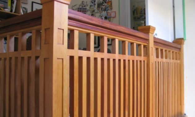 Fantastic Geometric Porch Railings Wood Porch Railing Options Misc Craftsman Railings Image