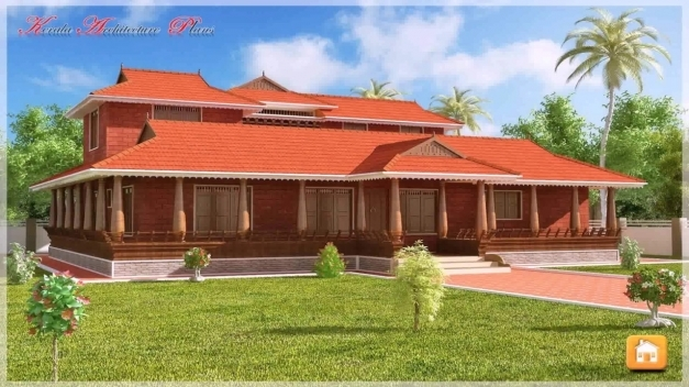 Gorgeous Kerala Style House Plans Nadumuttam Youtube Kerala Nalukettu House Plans Photos