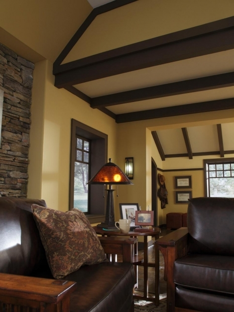 Incredible Design A Craftsman Living Room Hgtv Craftsman Interior Design Pictures