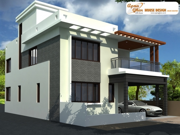 Incredible Modern Duplex House Design In Bangalore India Ashwin Designs 3d Modern Duplex Images