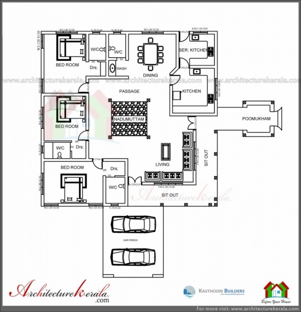 Marvelous House Plan Architecture Kerala Traditional House Plan With Kerala Nalukettu House Plans Pics