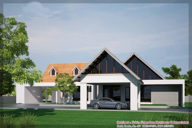 Marvelous Single Floor House Designs Kerala House Planner Single House Elevation Picture
