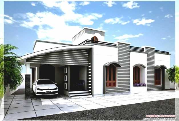 Marvelous Single Story Bungalow House Design Home Decor Ideas Building Single Story Bungalow Design Pics