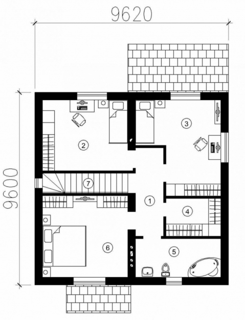 Outstanding House Plans Modern Nice Design Decor8rgirlcom Modern Small House 1000 Sq Ft House Plan Design In 2016 Pic