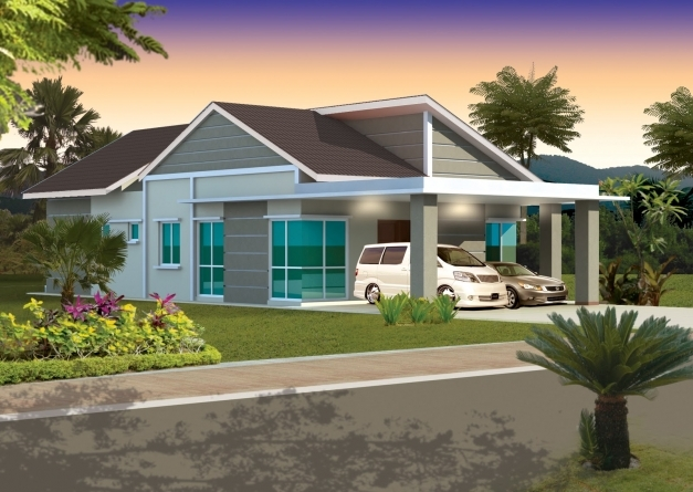 Outstanding Ipoh Home Villa Mdp Bercham Single Storey Bungalow Building Single Story Bungalow Design Photo