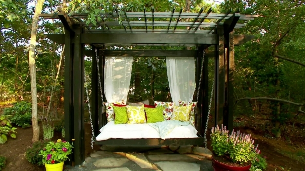 Outstanding Pergola Designs How To Build A Pergola Hgtv Pergola Decorating Ideas Photos