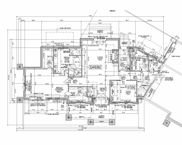 Remarkable 2d Architectural Drawing 2d Autocad House Plans Residential Autocad House Drawing 2d Images
