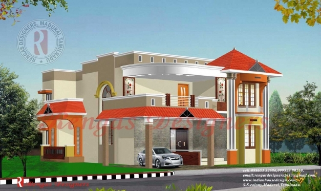 Best indian home house floor plans for Plan of bungalow in india