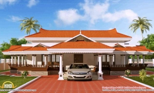Stunning Kerala House Roof Design Youtube Kerala House Images Photos