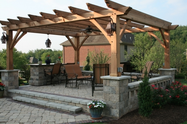 Stunning Patio Pergola Pergola Roof Ideas Fur Desk Chair Turquoise Living Pergola Roof Ideas Photo