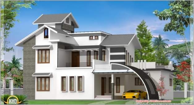 Stylish Awesome Small Indian Home Designs Photos Contemporary Design Indian Small House Design Photo