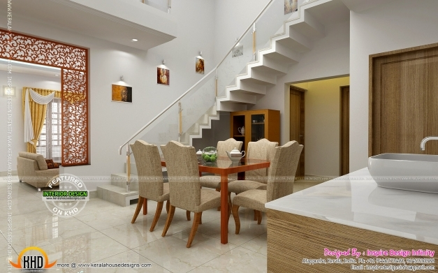 Stylish Living Room Interior Design In Kerala Interior Design House Inter Plans Kerala Style Photo