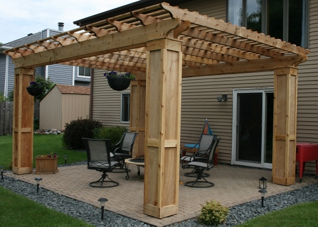 Wonderful Pergola Roof Thediapercake Home Trend Pergola Roof Ideas Photo