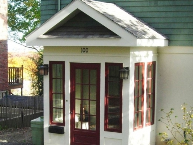 Best Small Enclosed Front Porch Ideas For Classic Decoration Small Enclosed Front Porch Ideas Photo