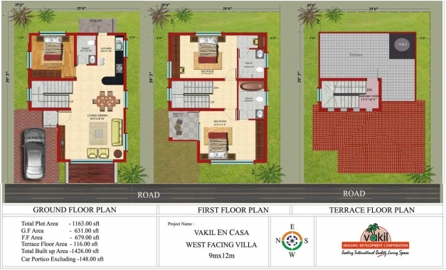 Fantastic 9 Duplex House Plans 30x40 Site North Facing Home 3040 3d 17 30 X 45 House Plans North Facing Pictures