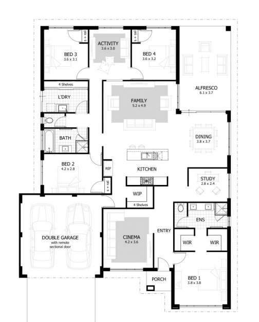 Fantastic Bedroom Plan Master Floor Plans Bungalow House In Nigeria Tolet 3 3 Bedroom Floor Plan In Nigeria Images