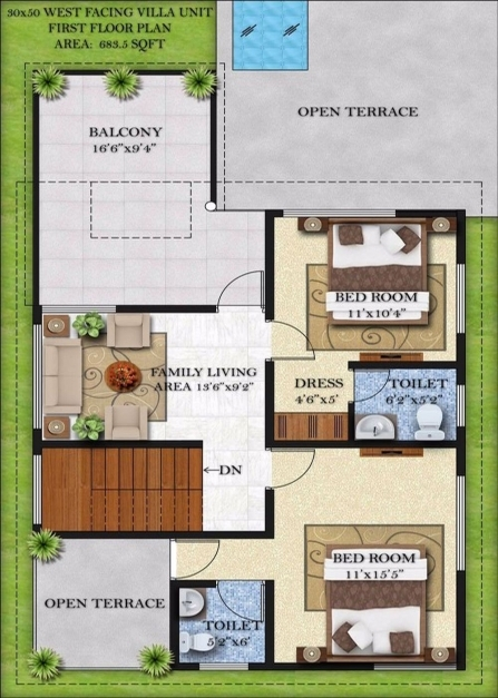 Fascinating Floor Plan For A House 15 X 40 Momchuri 15×50house Plan Images