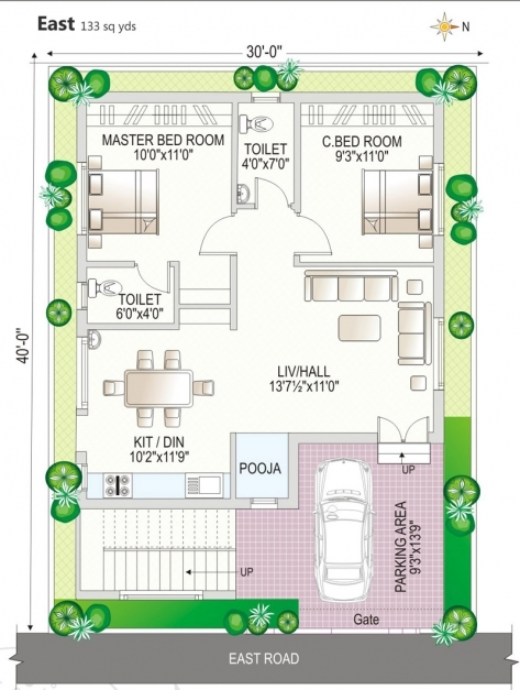 Gorgeous 0 Beautiful House Plan 30 X 45 And Floor Plans North Facing Map 30 X 45 House Plans North Facing Pics