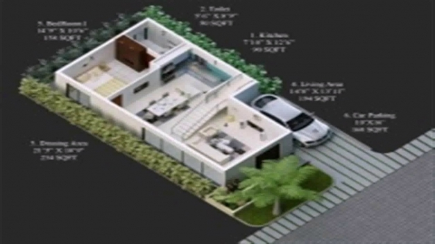 Gorgeous Floor Plans 30 X 50 Youtube 15*50 House Naksha Images