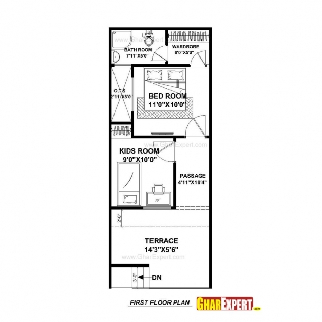Incredible Downloadse Plans X Size Scheme Duplex Plan North Facing East 15 40 15×50house Plan Photo