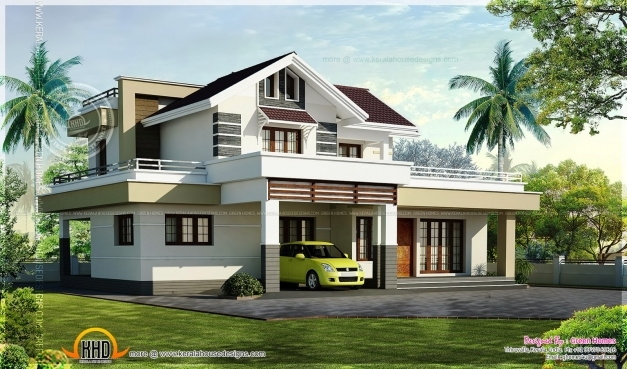 Inspiring house plan sq ft kerala model prime november for Kerala model house plans 1000 sq ft