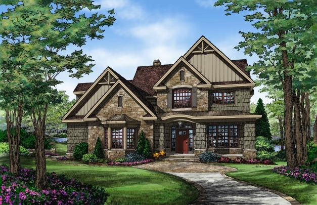 Outstanding 15 Top Cottage House Plans Floor Don Gardner Craftsman Style Chic Cape Floor Plan Donald Gardner Pic