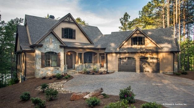Outstanding New Small Craftsman Design Available The Ferris Plan 1405 Donald Cape Floor Plan Donald Gardner Pics