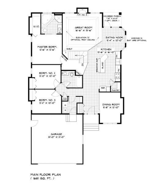 Awesome Uncategorized Single Story Bungalow House Plan Interesting In Single Story Bungalow House Plans Photos