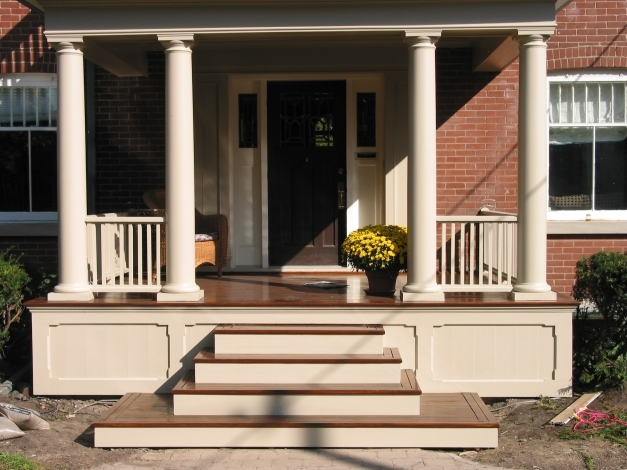 Delightful Front Porch Steps Step Railing Houzz 17 Best 25 Ideas On Pinterest Painted Front Porches Pictures