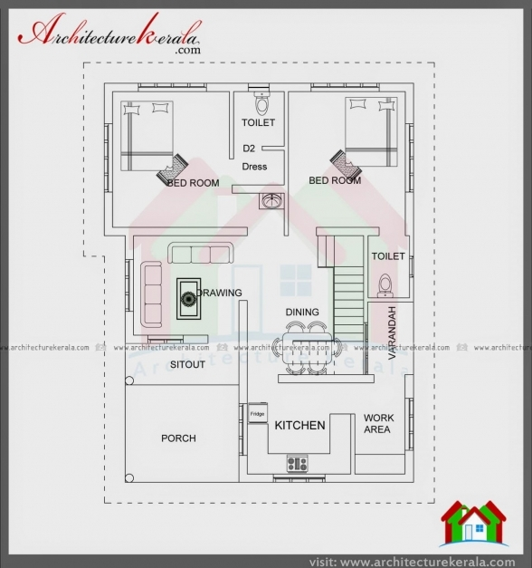 Fantastic House Plans Indian Style Sq Ft Awesome Contemporary Duplex In Kerala Style Home 750plans Pictures
