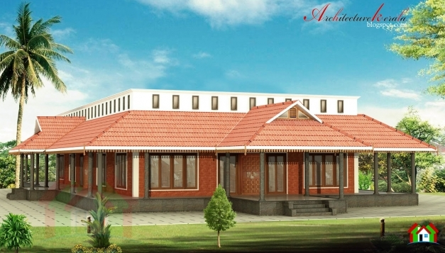 Fascinating Architecture Kerala Nalukettu House In 3000 Sq Ft Modern Nalukettu House Pictures Image