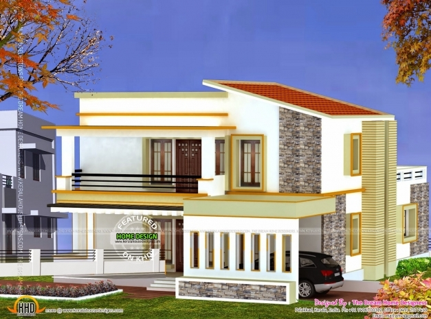 ... Incredible 3d View And Floor Plan Kerala Home Design And Floor Plans  House Plan With 3d ...