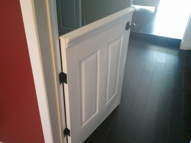 Incredible Half Doors Installed A Half Door To Isolate Our Dog From The Half Doors For Homes Pic