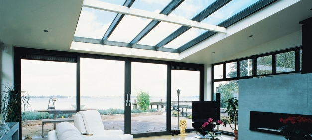 Inspiring Roof Windows Reynaers At Home Roof Window Design Photo