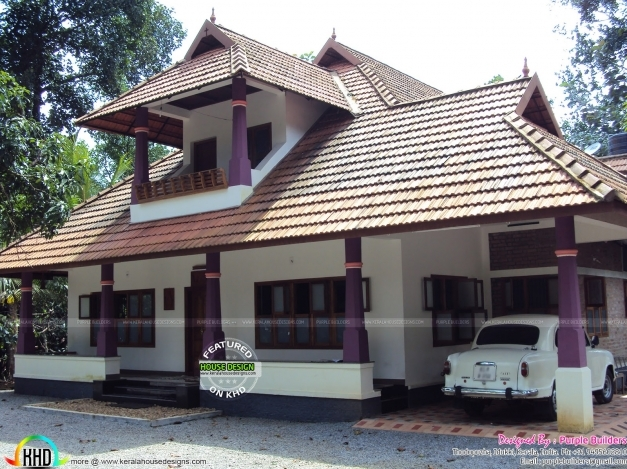 Inspiring Work Completed Nalukettu House Kerala Home Design And Floor Plans Small Nalukettu House Pic