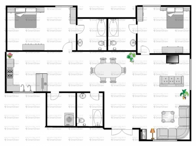 Marvelous Charming Ideas Single Storey Bungalowuse Plans With Foyer Modern Single Story Bungalow House Plans Photo