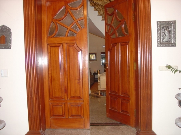 Marvelous Entry Door With Sidelights Lowes Glass Panel Exterior Wood Doors Half Doors For Homes Photo