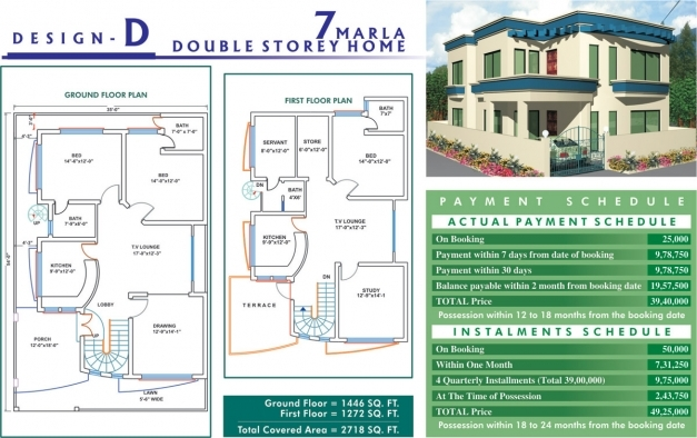 Outstanding Home Design Pakistan Marla House Harmain Home Plans Blueprints 7 Marla House Al Haram Image