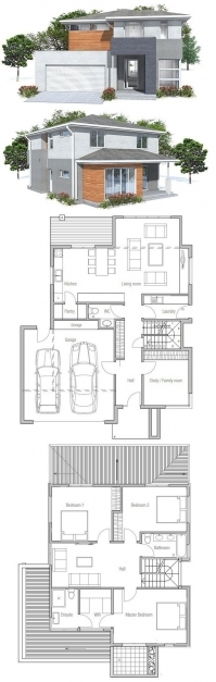 Stunning Lovely Ideas Small Modern House Designs And Floor Plans Modern House Plans Photo
