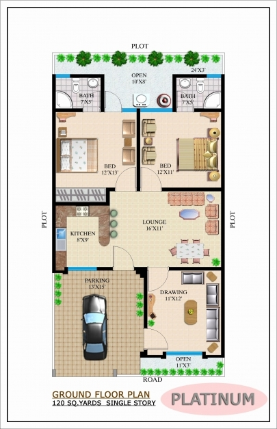 Stunning Single Story Open Floor Plans Elegant Download E Story Bungalow Single Story Bungalow House Plans Image
