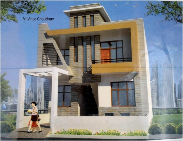 Amazing Modern Single Family Front House Elevation Design Gharexpert House Ghar Beautiful Elevation Expert Pic
