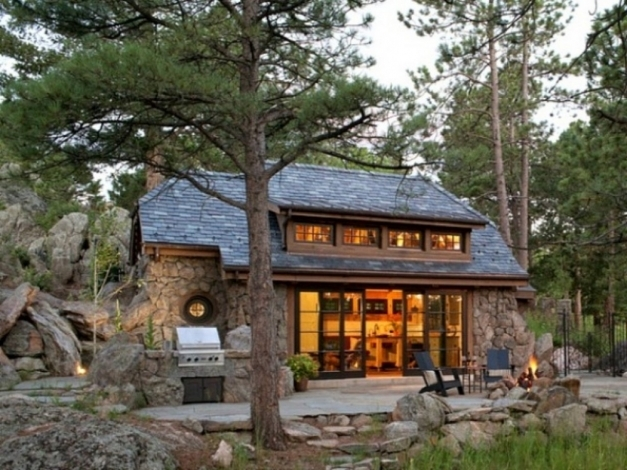 Amazing Stone Cottage Vacation House Plans Homes Zone Small Stone Cottage House Plans Pictures