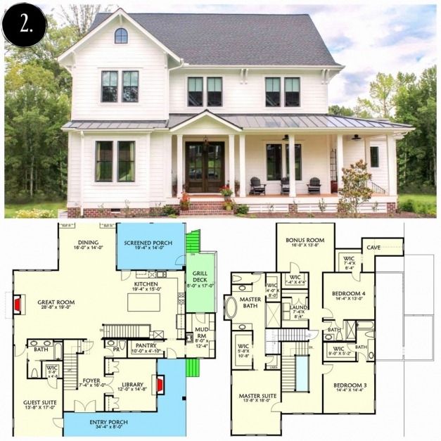 Awesome Hous 50 Unique Modern Farmhouse House Plans Best Gallery New Farmhouse Plans With Photos Pictures