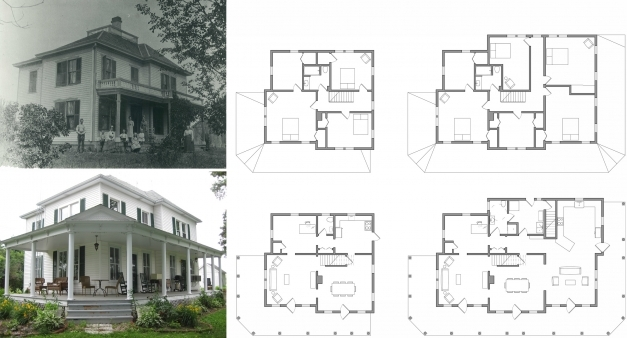 Delightful Old Farm House Plans Smalltowndjs Com Awesome 14 Farmhouse Floor Farmhouse Plans With Photos Pic